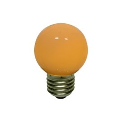 Lampadina a led decoLED, tappo a vite E27, arancione, decoLED