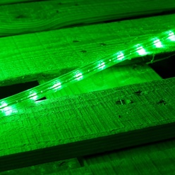 Tubo luminoso flessibile decoLED - colore verde, 50m