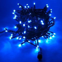 Catena luminosa decoLED - 4 m, LED 32 diodi luce blu