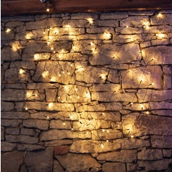 Rete luminosa a led decoLED - 2x 1,5m, LED 90 diodi luce bianca calda