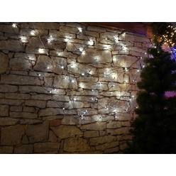 Rete luminosa decoLED - 2x1.5 m, LED 90 diodi luce bianca fredda