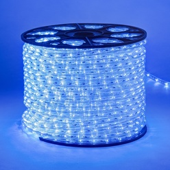 decoLED Tubo LED flessibile, bobina 100m, blu, decoLED