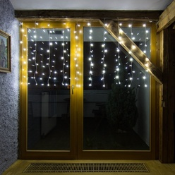 decoLED LED tenda leggera HOBBY LINE , 2x2m, bianco caldo, 200 diodi