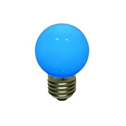 decoLED LED lampadina, base a vite E27, azzurro
